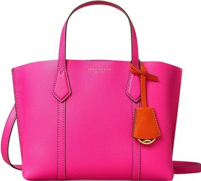 Crazy Pink Perry Small Triple-Compartment Tote-Tory Burch