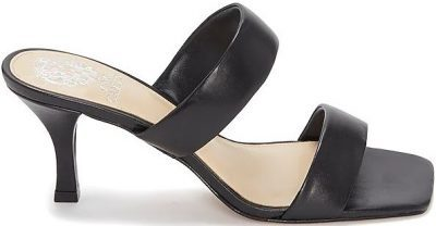 Black Aslee Two-Strap Mule-Vince Camuto