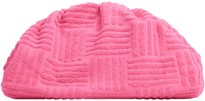 Pink Terry Towel Fabric Pouch-Ego