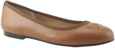 Praline Leather Kathy Shoes-French Sole