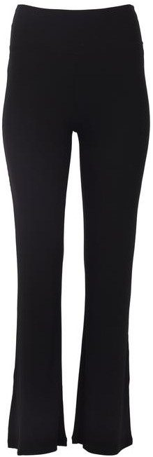 Black Slit Ribbed Pant-Year Of Ours