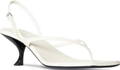 White Constance Thong Sandal-TheRow