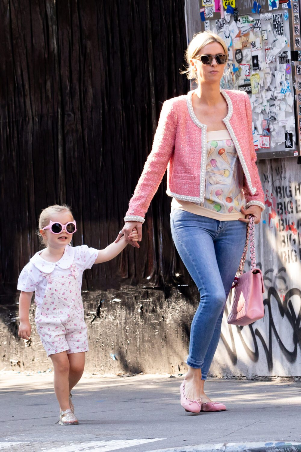 Nicky Hilton and Family Go to Cupcake Store in NYC